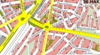 Lauritsalan liikenteenjakaja opaskartta LPR kaupunki