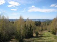 2. Keväinen kuva Neulamäen näkötornilta luoteeseen