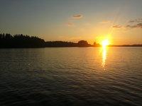8. Neulaniemen kärki, Palosaari ja Munasaaret vesiltä kuvattuina